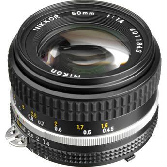 Nikon NIKKOR 50mm f/1.4 AIS Manual Focus Lens