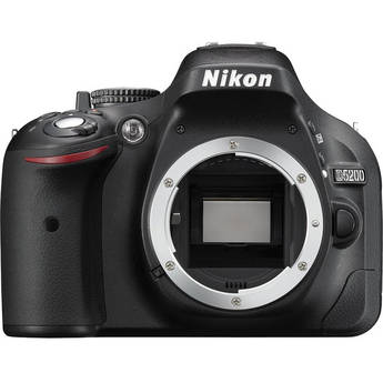 Nikon D5200 Digital SLR Camera (Body Only, Black)