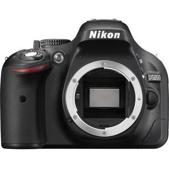 Nikon D5200 Digital SLR Camera (Body Only, Black)