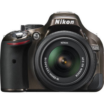 Nikon D5200 Digital SLR Camera with 18-55mm Lens (Bronze)