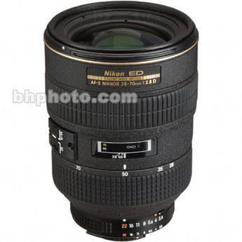 Nikon Zoom W/A-Telephoto AF-S Zoom Nikkor 28-70mm f/2.8D ED-IF AF Lens