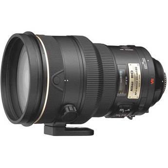 Nikon AF-S VR NIKKOR 200mm f/2.0 G AF-S IF-ED Lens