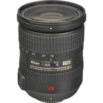 Nikon AF Zoom Nikkor 18-200mm f/3.5-5.6G ED-IF AF-S DX VR  Lens