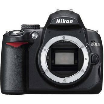 Nikon D5000 Digital SLR Camera (Body Only)