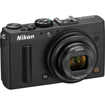 Nikon COOLPIX A Digital Camera (Black)