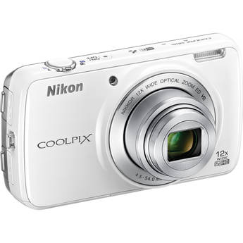 Nikon COOLPIX S810c Digital Camera (White)