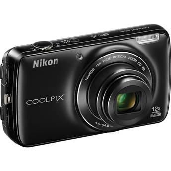 Nikon COOLPIX S810c Digital Camera (Black)