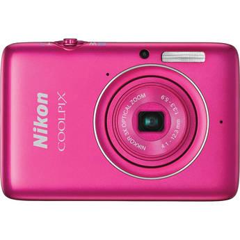 Nikon COOLPIX S02 Digital Camera (Pink)