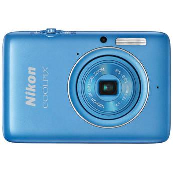Nikon COOLPIX S02 Digital Camera (Blue)