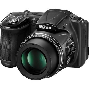 Nikon COOLPIX L830 Digital Camera (Black)