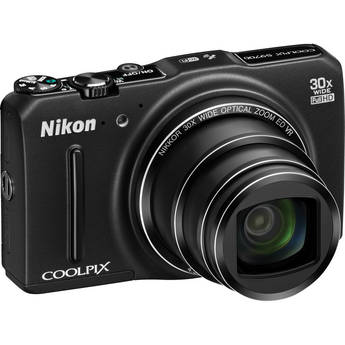 Nikon COOLPIX S9700 Digital Camera (Black)