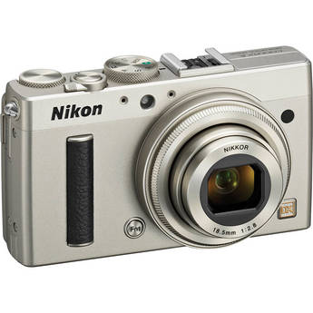 Nikon COOLPIX A Digital Camera (Silver)