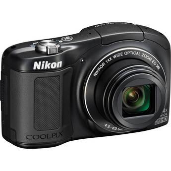 Nikon COOLPIX L620 Digital Camera (Black)