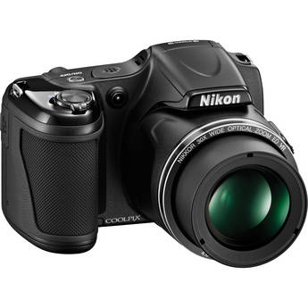 Nikon COOLPIX L820 Digital Camera (Black)