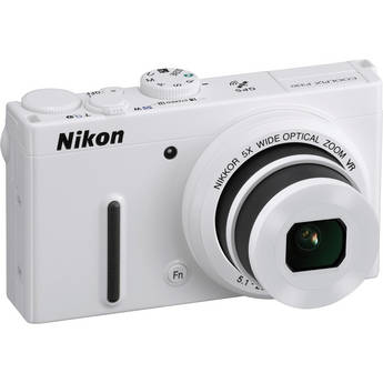 Nikon COOLPIX P330 Digital Camera (White)