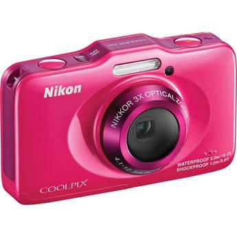 Nikon COOLPIX S31 Digital Camera (Pink)