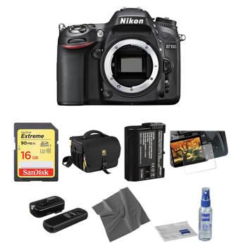 Nikon D7100 DSLR Camera (Body Only) Basic Accessory Kit
