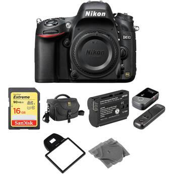 Nikon D610 DSLR Camera Body Basic Kit