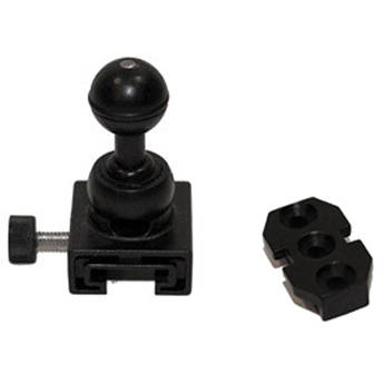 "Nocturnal Lights NL-BJADAPTER.38 Quick Release Ball Joint Adapter & T-Base Connector with 3/8"" Thread"