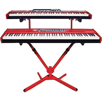 Nord 2-Tier Keyboard Stand (Red)