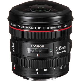 Canon 8-15mm f/3.5-4.5 FISHEYE-ZOOM LENS