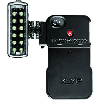 Manfrotto KLYP Case for iPhone 4/4S + ML120 LED Light