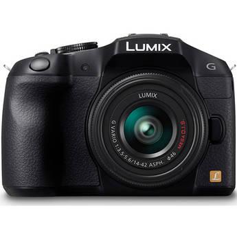 Panasonic Lumix DMC-G6 Mirrorless Micro Four Thirds Digital Camera with 14-42mm f/3.5-5.6 II Lens