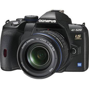 Olympus E-520 SLR Digital Camera Kit with 14-42mm Lens