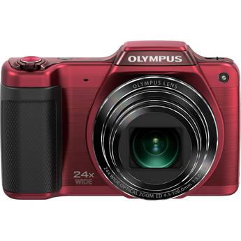 Olympus SZ-15 Digital Camera (Red)