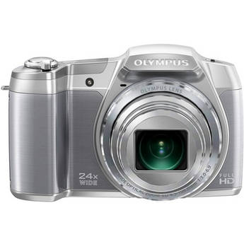 Olympus SZ-16 iHS Digital Camera (Silver)