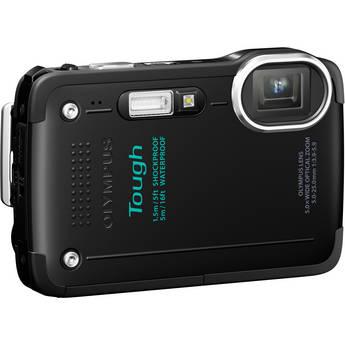 Olympus TG-630 iHS Digital Camera (Black)