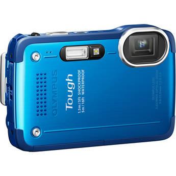 Olympus TG-630 iHS Digital Camera (Blue)