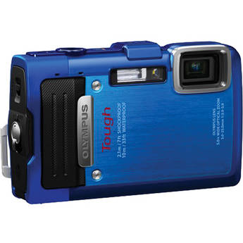 Olympus TG-830 iHS Digital Camera (Blue)