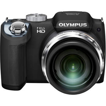 Olympus SP-720UZ Digital Camera (Black)