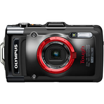 Olympus Tough TG-2 iHS Digital Camera (Black)