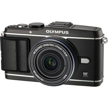 Olympus E-P3 PEN Digital Camera with 17mm Lens (Black)