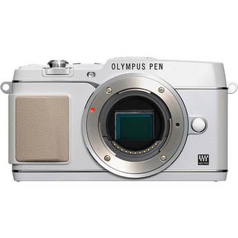 Olympus PEN E-P5 Mirrorless Micro Four Thirds Digital Camera Body (White)