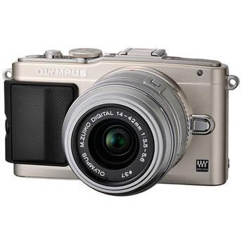 Olympus E-PL5 Mirrorless Micro Four Thirds Digital Camera with 14-42mm f/3.5-5.6 II R Lens (Silver)