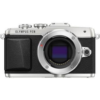 Olympus PEN E-PL7 Mirrorless Micro Four Thirds Digital Camera (Silver)