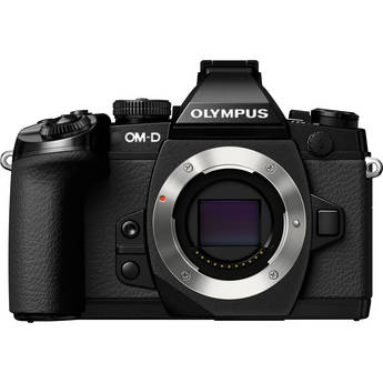 Olympus OM-D E-M1 Mirrorless Micro Four Thirds Digital Camera (Black, Body Only)