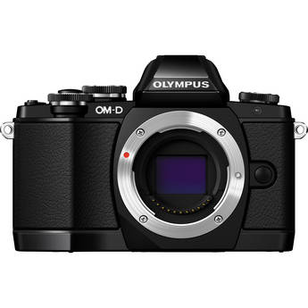 Olympus OM-D E-M10 Mirrorless Micro Four Thirds Digital Camera (Body Only, Black)
