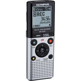 Olympus VN-702PC Digital Voice Recorder (Silver)