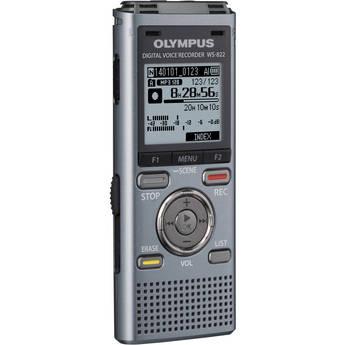 Olympus 4GB WS-822 Digital Voice Recorder (Gunmetal)
