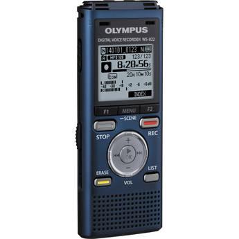 Olympus 4GB WS-822 Digital Voice Recorder (Blue)