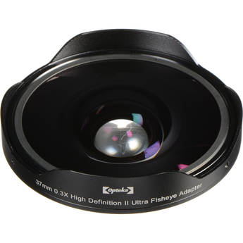 Opteka 0.43x Super-Wide Angle Macro Converter Lens for 52mm Filter Thread (Black)