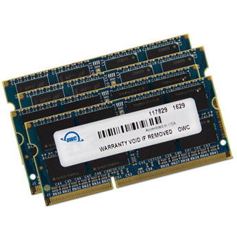 OWC / Other World Computing 48GB DDR3 1600 MHz SO-DIMM Memory Upgrade Kit (2 x 16GB + 2 x 8GB)