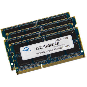 OWC / Other World Computing 64GB DDR3 1600 MHz SO-DIMM Memory Upgrade Kit (4 x 16GB)