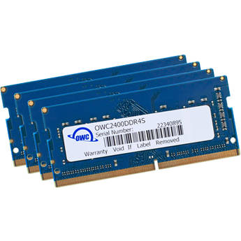 OWC / Other World Computing 32GB DDR4 2400 MHz SO-DIMM Memory Upgrade Kit (4 x 8GB)