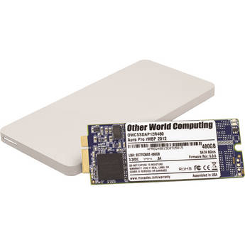 OWC / Other World Computing 480GB Aura Pro 6G Solid State Drive & Envoy Pro Storage Solution