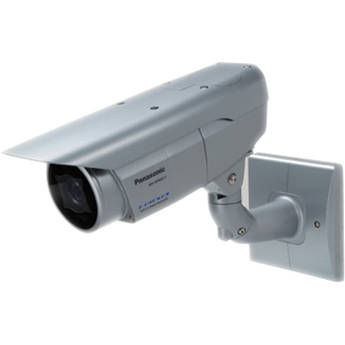 Panasonic 6 Series WV-SPW611L Super Dynamic HD Weatherproof IR PoE Network Camera with 2.8 to 10mm Lens (Light Gray)